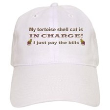 Tortie in Charge Baseball Cap