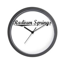 Radium Springs, Vintage Wall Clock