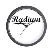 Radium, Vintage Wall Clock