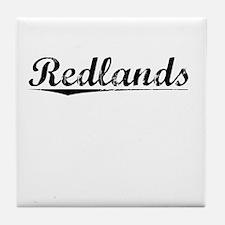 Redlands, Vintage Tile Coaster
