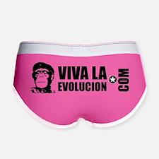 Viva La Evolucion Dot Com Women's Boy Brief