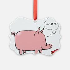 Dad Bacon Ornament