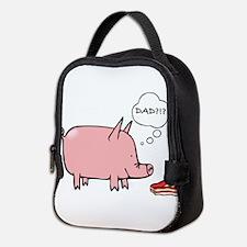 Dad Bacon Neoprene Lunch Bag