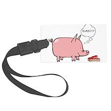 Dad Bacon Luggage Tag
