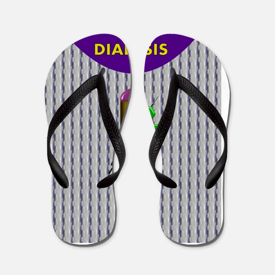 DIALYSIS CP IPHONE CASES 3 Flip Flops