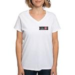 WW the Field D Women's V-Neck T-Shirt