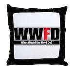 WW the Field D Throw Pillow