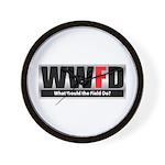 WW the Field D Wall Clock
