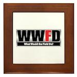 WW the Field D Framed Tile