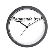 Raymonds Fork, Vintage Wall Clock