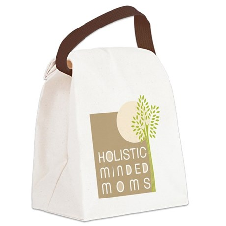 First Tree and Moon logo Canvas Lunch Bag