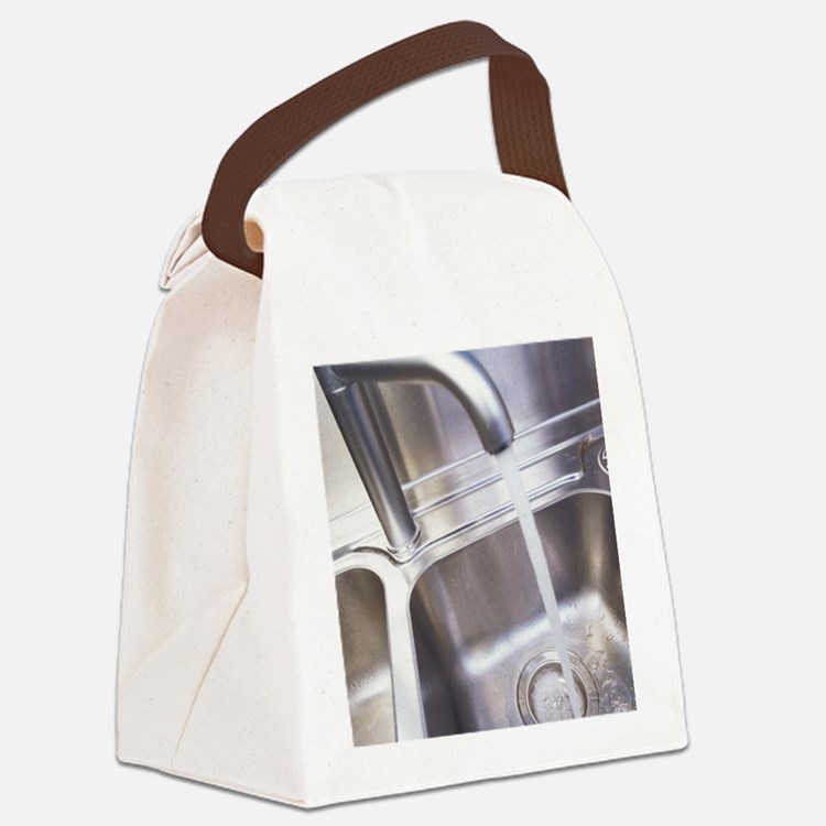 Running water Canvas Lunch Bag