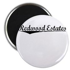 Redwood Estates, Vintage Magnet