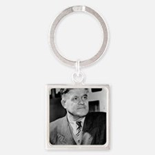 Russian physicist Pavel Cerenkov Square Keychain