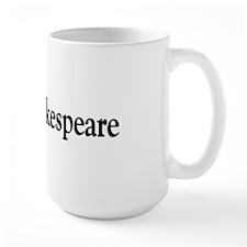 I Love Shakespeare Mug