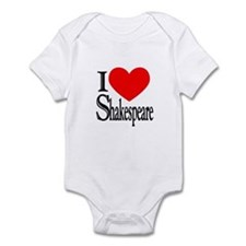 I Love Shakespeare Infant Bodysuit