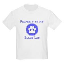 Property Of My Black Lab T-Shirt