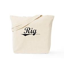 Rig, Vintage Tote Bag