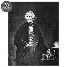 Samuel Morse, American telegraph inventor Puzzle