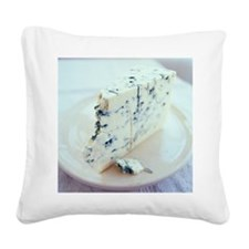 Roquefort cheese Square Canvas Pillow