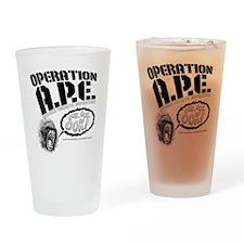 Operation A.P.E. Drinking Glass