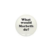 Macbeth Mini Button (10 pack)