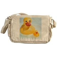 Rubber ducks Messenger Bag