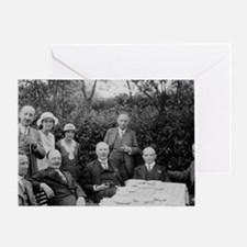 Rutherford, Geiger, Chadwick Meitner Greeting Card