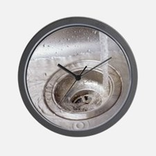 Running water Wall Clock