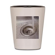 Running water Shot Glass