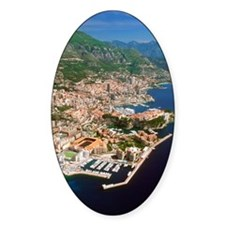 Aerial view of a city, Monte Carlo, Decal