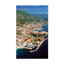 Aerial view of a city, Monte C Decal