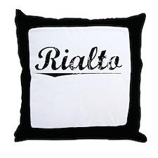 Rialto, Vintage Throw Pillow