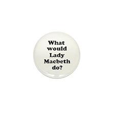 Lady Macbeth Mini Button (10 pack)