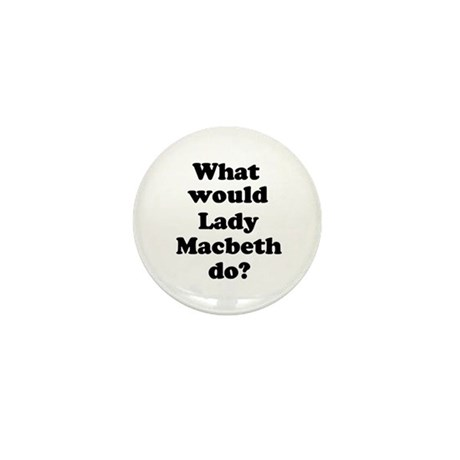 Lady Macbeth Mini Button (100 pack)