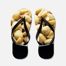 Salted peanuts Flip Flops