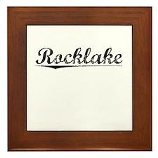 Rocklake, Vintage Framed Tile