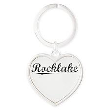 Rocklake, Vintage Heart Keychain