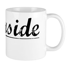 Riverside, Vintage Mug