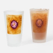 SARS virus, TEM Drinking Glass