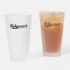 Ridgecrest, Vintage Drinking Glass