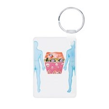 Scabies Keychains