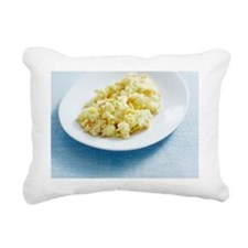 Scrambled egg Rectangular Canvas Pillow
