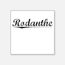 "Rodanthe, Vintage Square Sticker 3"" x 3"""