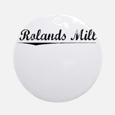 Rolands Mill, Vintage Round Ornament