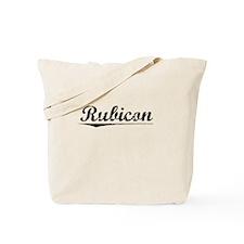 Rubicon, Vintage Tote Bag