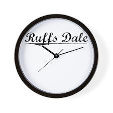 Ruffs Dale, Vintage Wall Clock