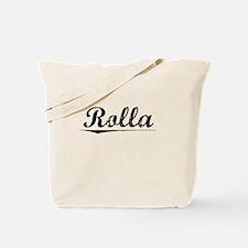 Rolla, Vintage Tote Bag