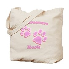 Dog Groomers Rock Tote Bag