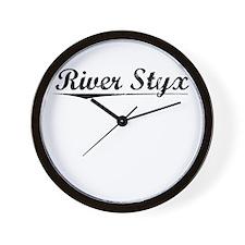 River Styx, Vintage Wall Clock